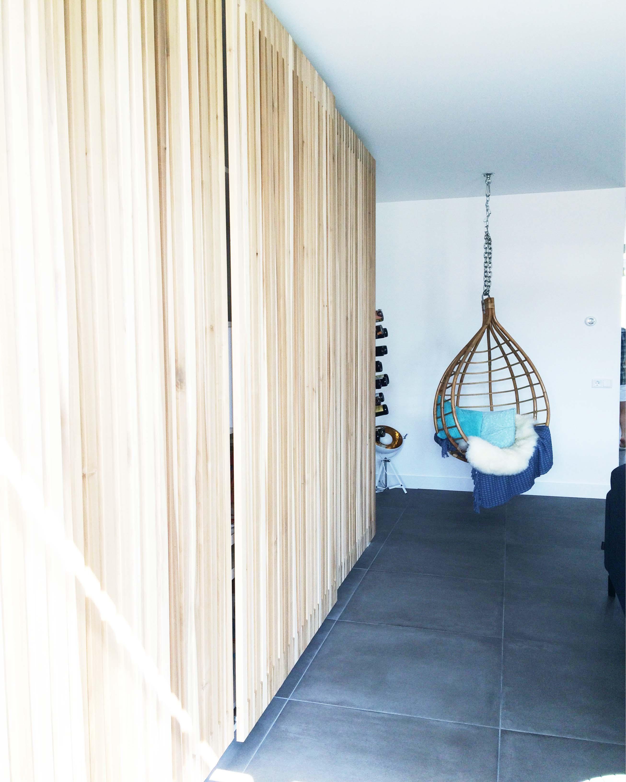 Op maat gemaakte kastenwand met schuifdeuren